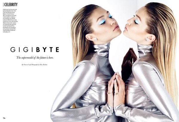 Gigi Hadid《Elle》加拿大版2015年11月号
