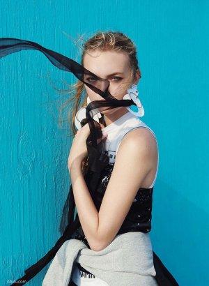 Gemma Ward  for V by Ben Toms