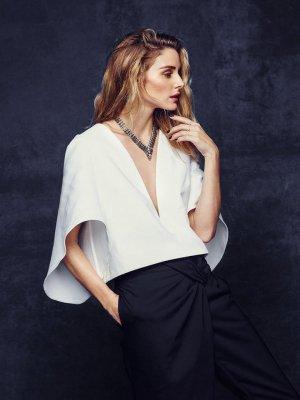Olivia Palermo×BaubleBar 假日系列珠宝广告