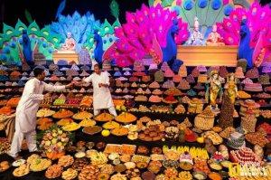 那些节日庆祝活动中的美食 吃货们的天堂?