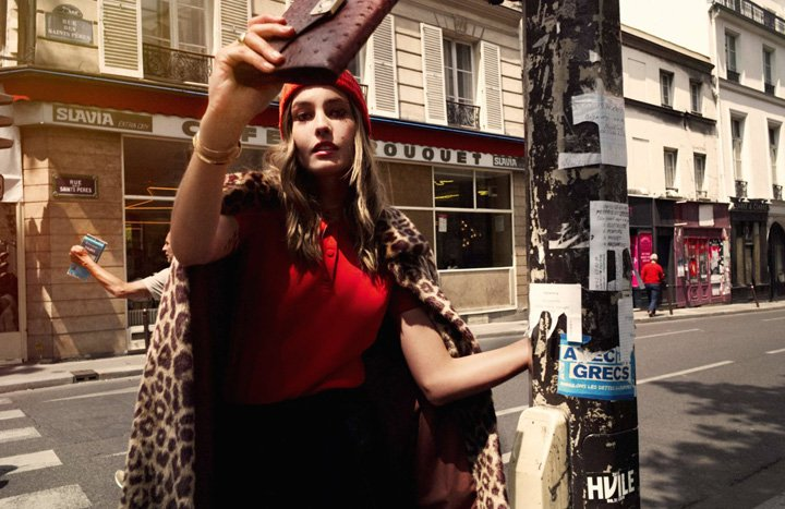 Nadja Bender《Elle》法国版2015年10月号