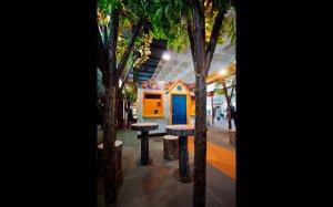 JIMMY SPA CAFE色彩明快的空间环境设计