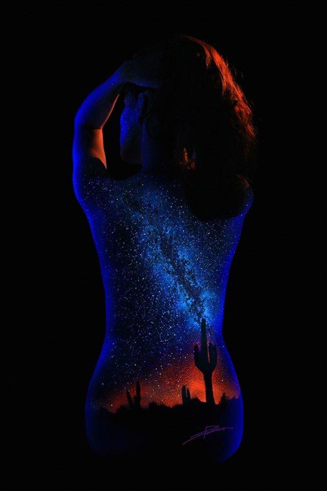 Black Light Bodyscapes 13