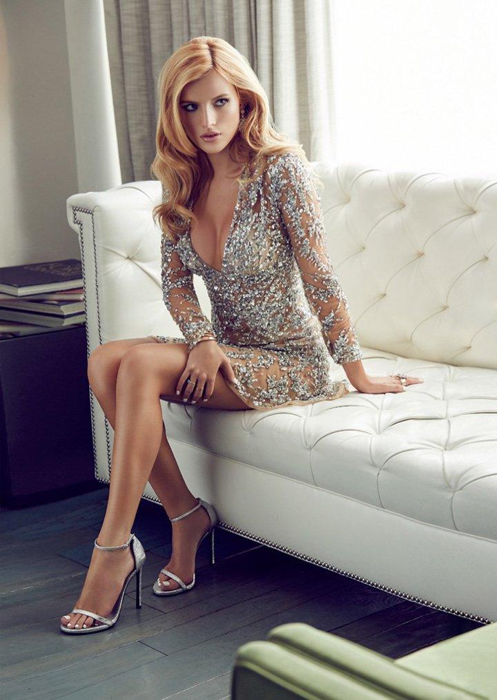 Bella Thorne《Glomour》墨西哥版2015年12月号