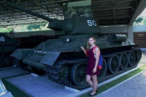 俄罗斯少女朝鲜游记