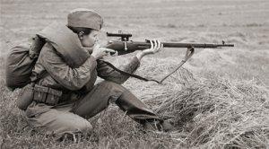大妞配大狙:苏维埃的女子狙击精英们