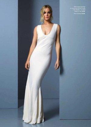 Jennifer Lawrence 《Elle》法国版时尚杂志