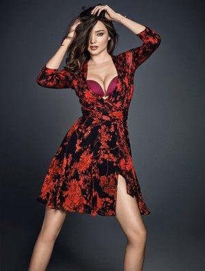 超模 Miranda Kerr(米兰达·可儿)Wonderbra 2016品牌广告