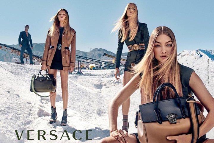 Versace(范思哲)2016春夏广告大片