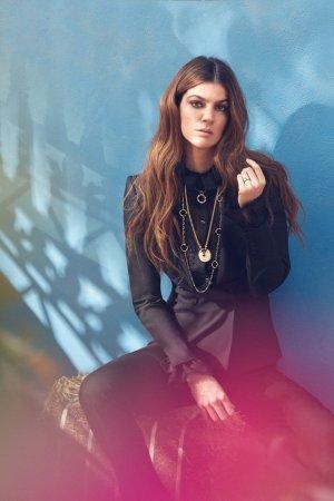 Bianca Brandolini演绎《Emirates Woman》时尚杂志大片