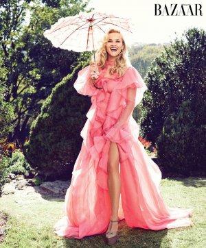 Reese Witherspoon(瑞茜·威瑟斯彭)Harper's Bazaar 杂志美国版