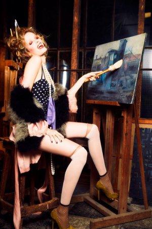 超模Alisa Ahmann 演绎《Vogue》时尚杂志乌克兰版