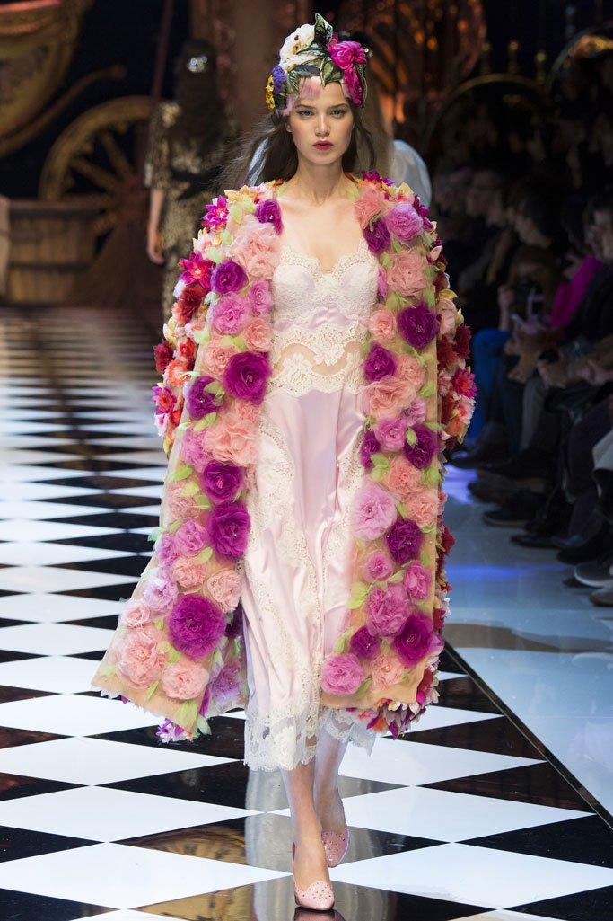 Dolce & Gabbana(杜嘉班纳)2016米兰时装周女装秀