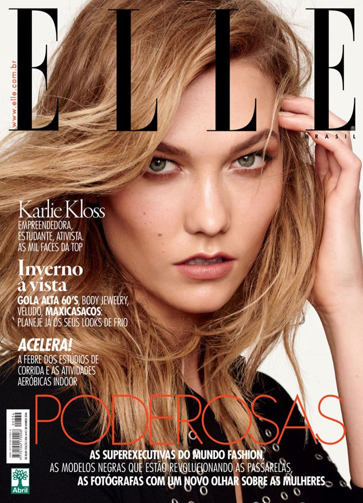 Karlie Kloss《Elle》巴西版2016年3月号