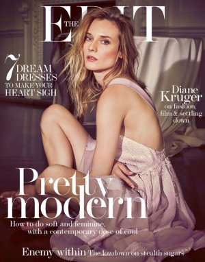 Diane Kruger演绎《The Edit》杂志最新封面