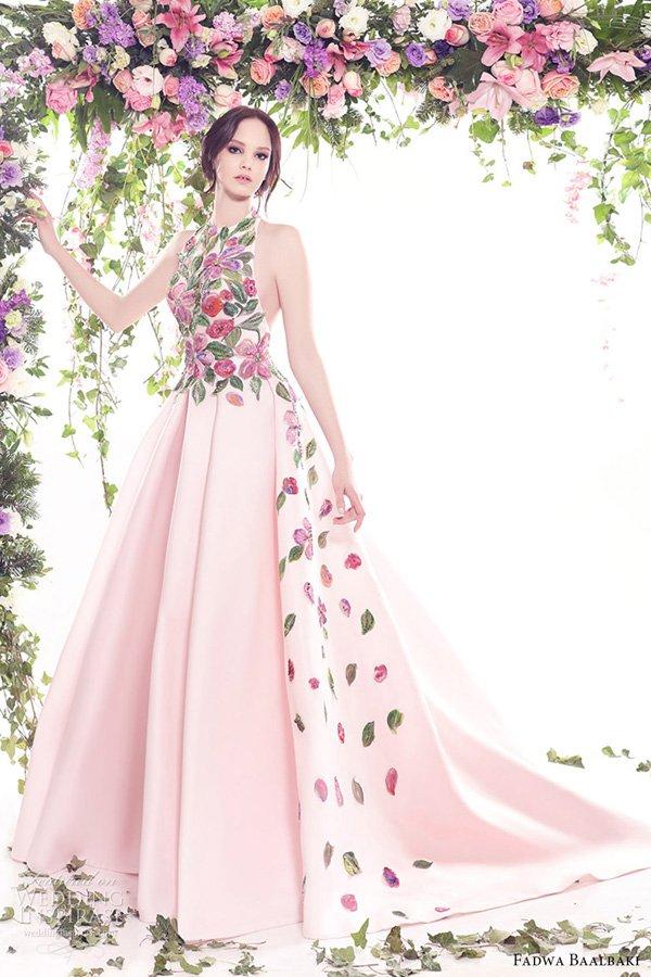 Fadwa Baalbaki 2016年春夏「蓝花」系列
