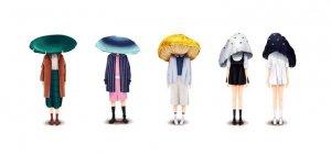 Miss Mushy 蘑菇头女孩插画设计