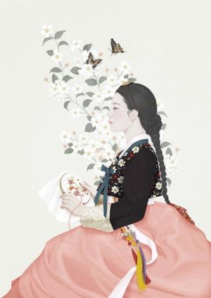 韩国插画家choi mi kyung作品欣赏