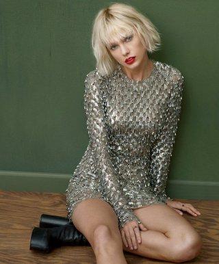 Taylor Swift 演绎《Vogue》时尚杂志大片
