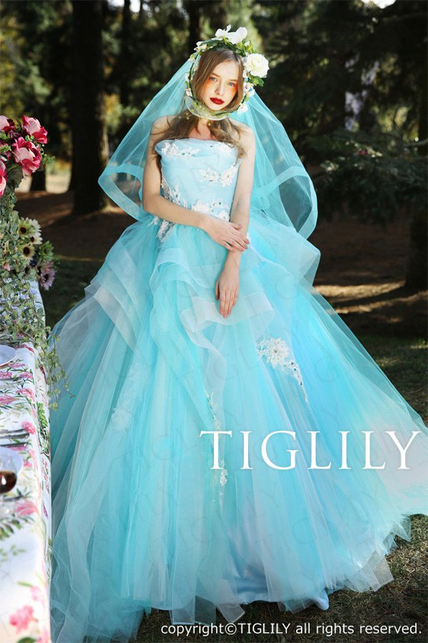 Tiglily 2016春夏婚纱系列