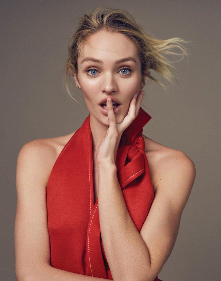 Candice Swanepoel《Elle》中国版2016年5月号