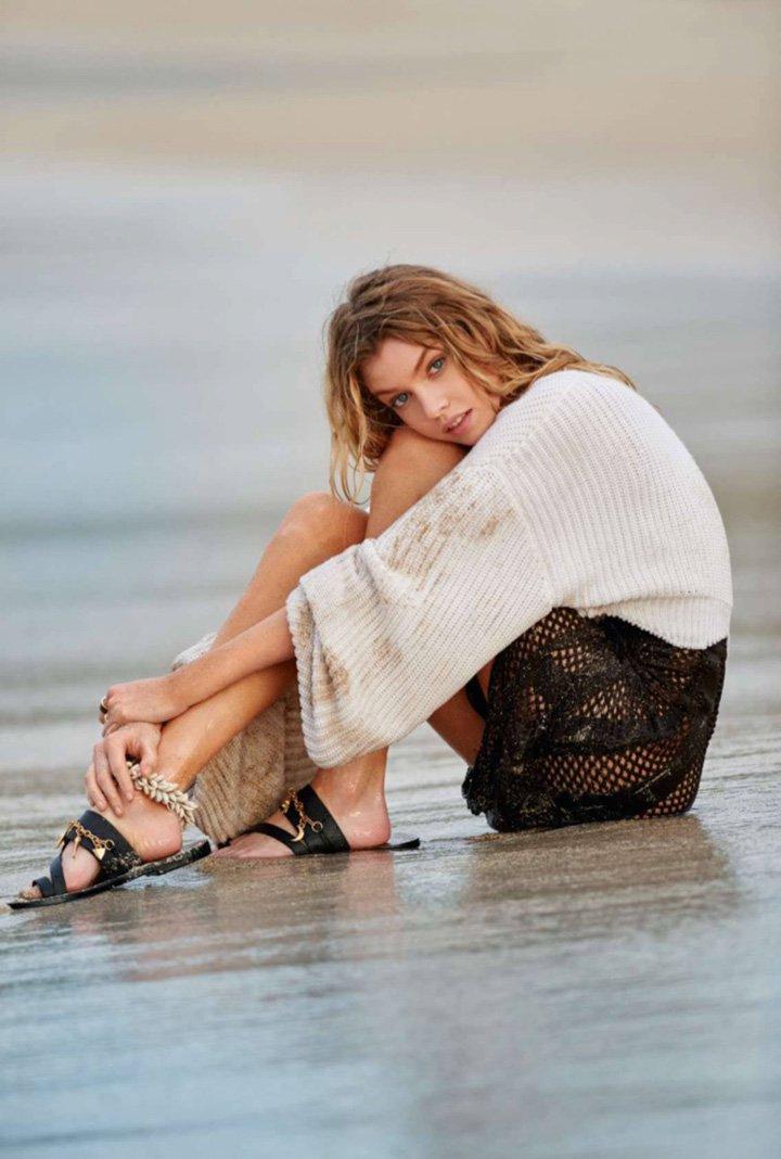 Stella Maxwell《Elle》法国版2016年4月号