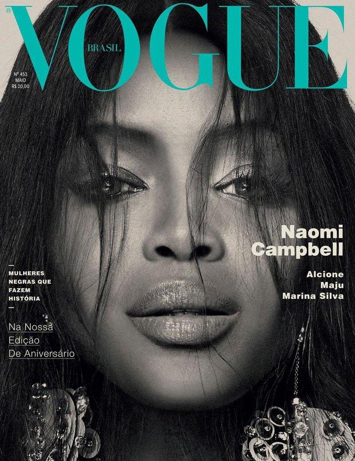 Naomi Campbell《Vogue》巴西版2016年5月号