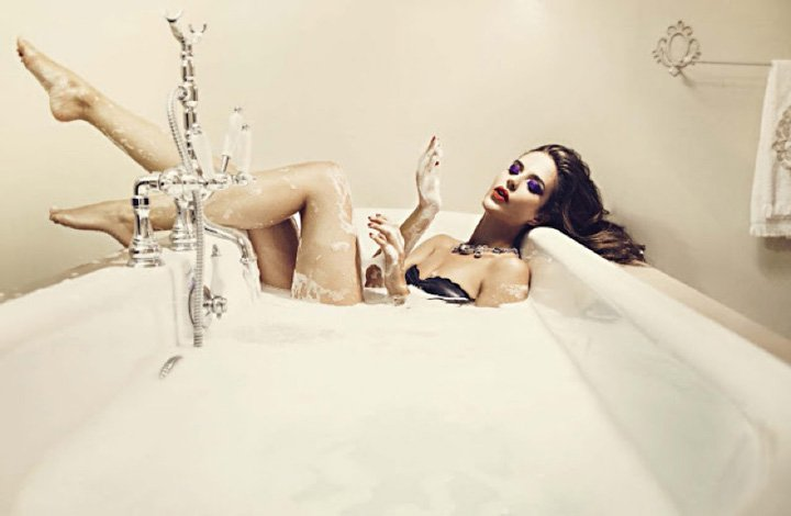 Clara Alonso《Glamour》意大利版2016年5月号