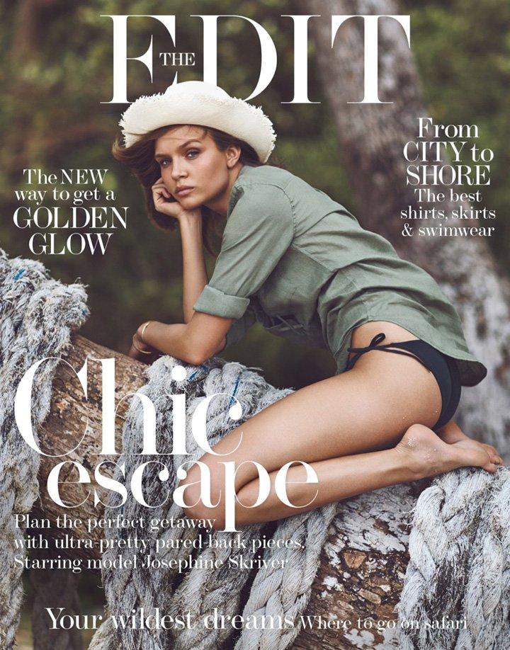 Josephine Skriver《The Edit》杂志2016年5月号