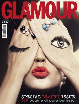 超模Clara Alonso演绎《Glamour》时尚杂志大片