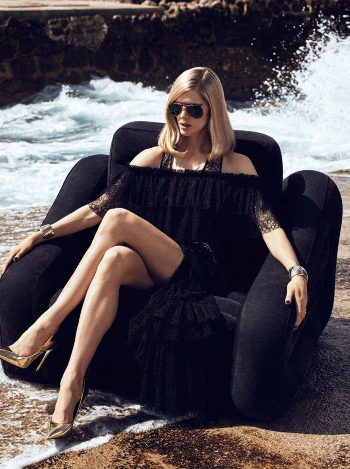 Iselin Steiro《Vogue》法国版2016年6/7月号