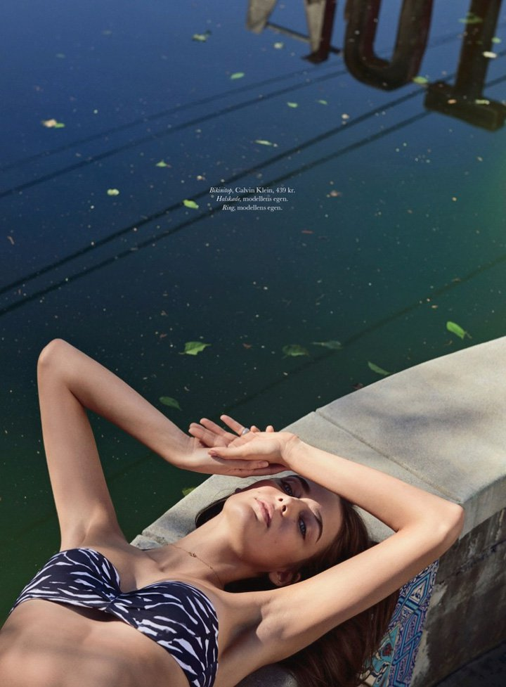 Zuzanna Bijoch《Elle》丹麦版2016年7月号