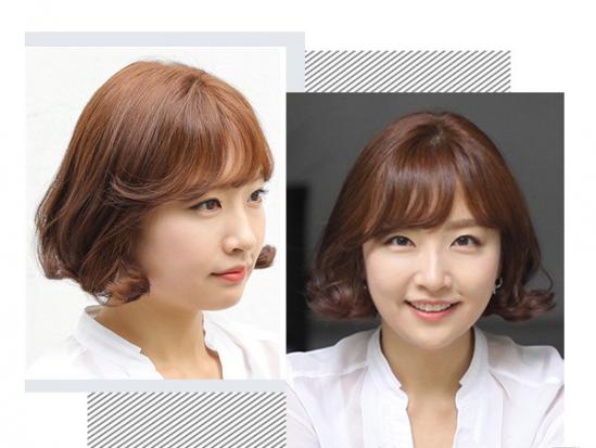 2016韩式空气刘海发型