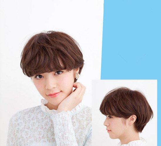 2016齐耳短发发型图片