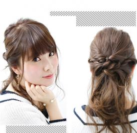 选韩式清新发型 助你撩人指数大翻倍