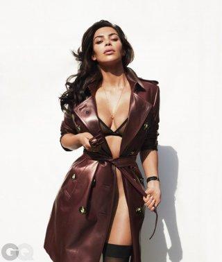Kim Kardashian(金·卡戴珊)演绎《GQ》美国版时尚大片