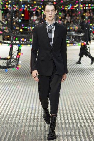 Dior Homme 2017巴黎时装发布会男装秀