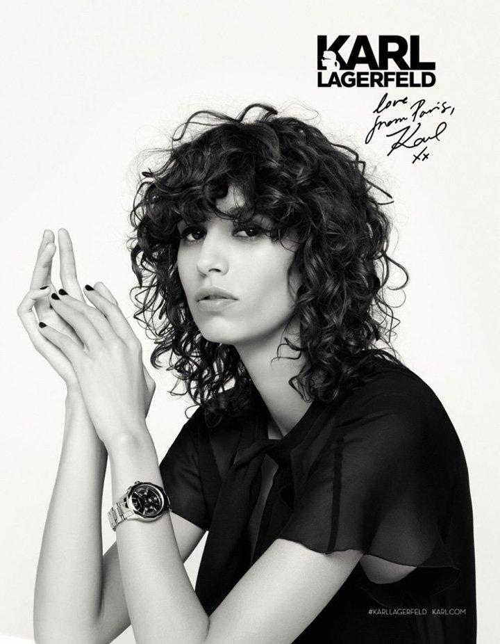 Karl Lagerfeld 2016秋冬系列广告大片