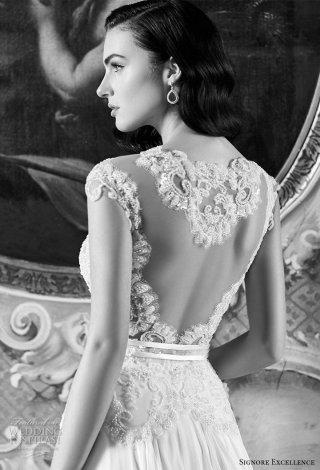 意大利婚纱品牌 Maison Signore 2017婚纱礼服系列