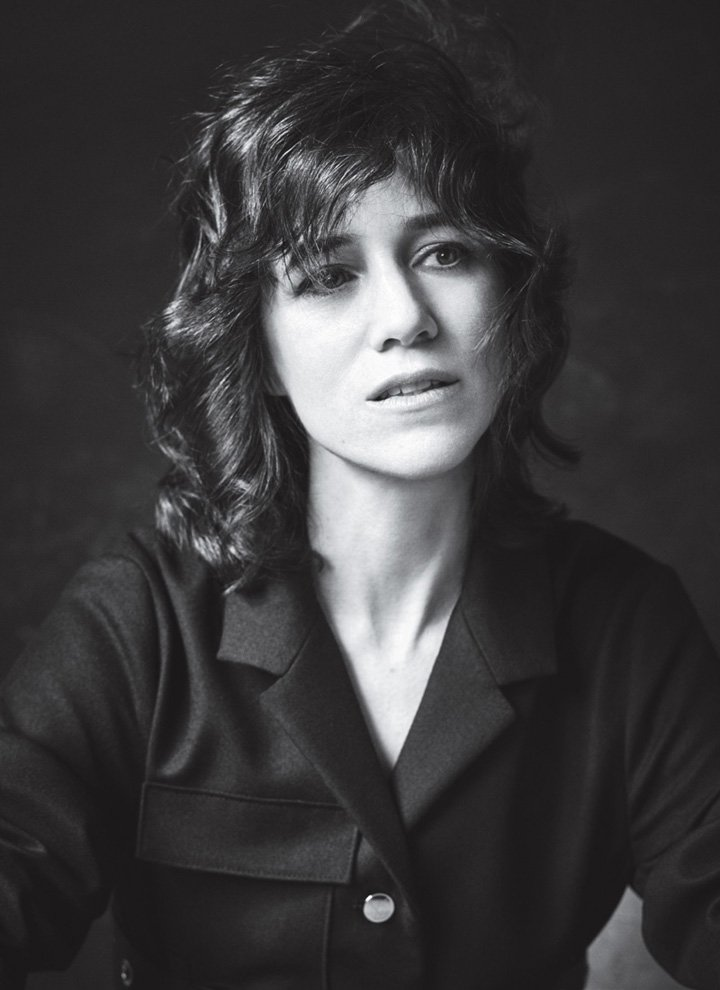 Charlotte Gainsbourg《InStyle》杂志2016年7月号