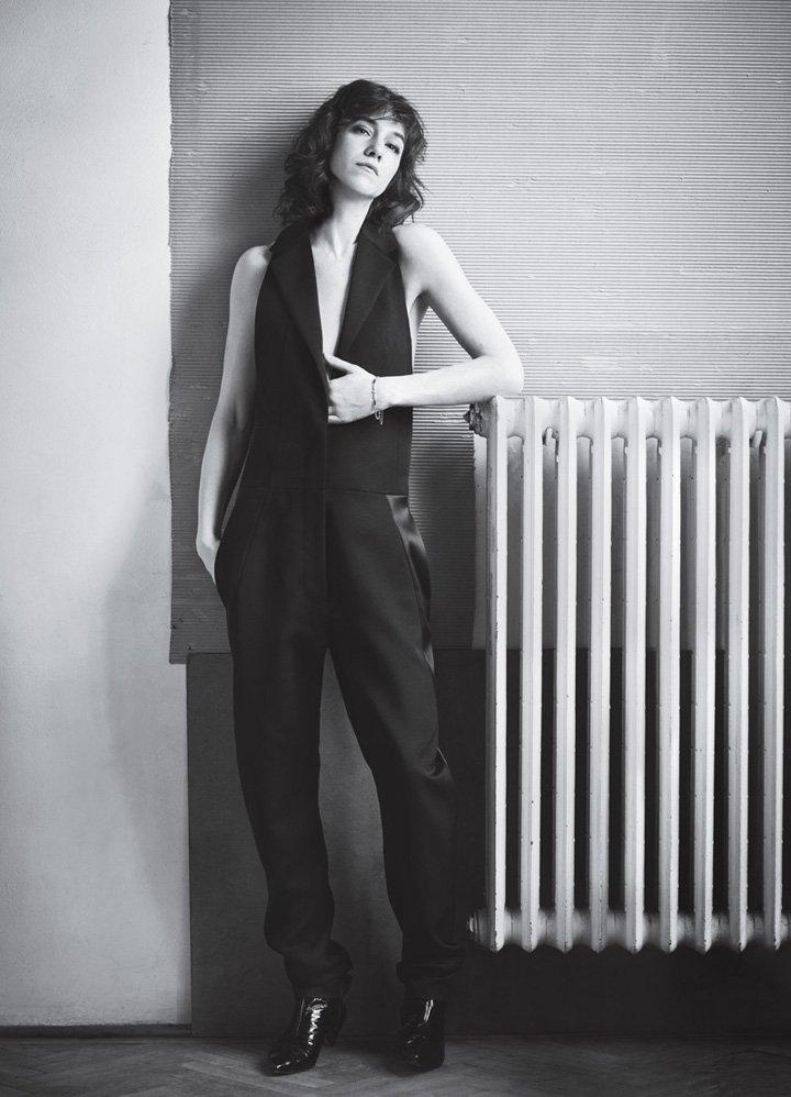 Charlotte Gainsbourg《InStyle》杂志2016年7月号