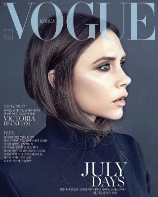 Victoria Beckham演绎《Vogue》时尚杂志大片