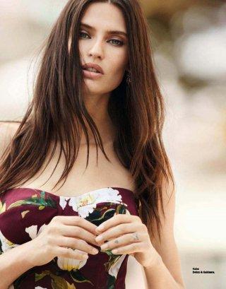 名模Bianca Balti演绎《Grazia》时尚杂志摄影大片