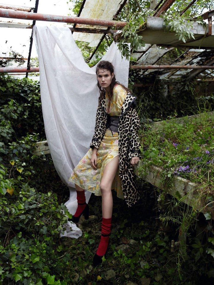 Vanessa Moody《Vogue》中国版2016年8月号
