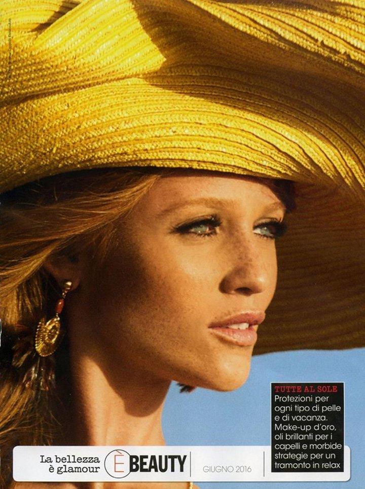 Cintia Dicker《Glamour》意大利版2016年6月号