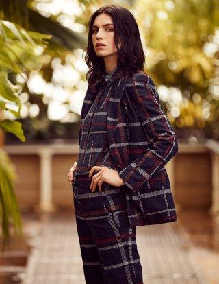 超模Tali Lennox 演绎《Tatler》时尚杂志大片