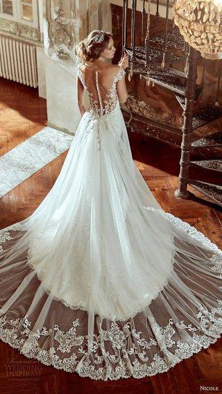 意大利顶级婚纱品牌 Nicole Spose 2017婚纱礼服系列