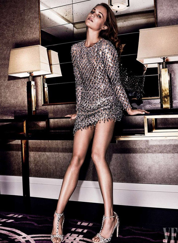 Alicia Vikander《Vanity Fair》美国版2016年9月号