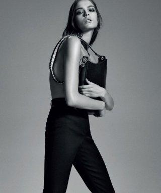 超模Mina Cvetkovic 演绎《Harper's Bazaar》时尚杂志大片