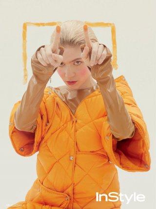 加拿大Grimes yan演绎《InStyle》时尚杂志大片